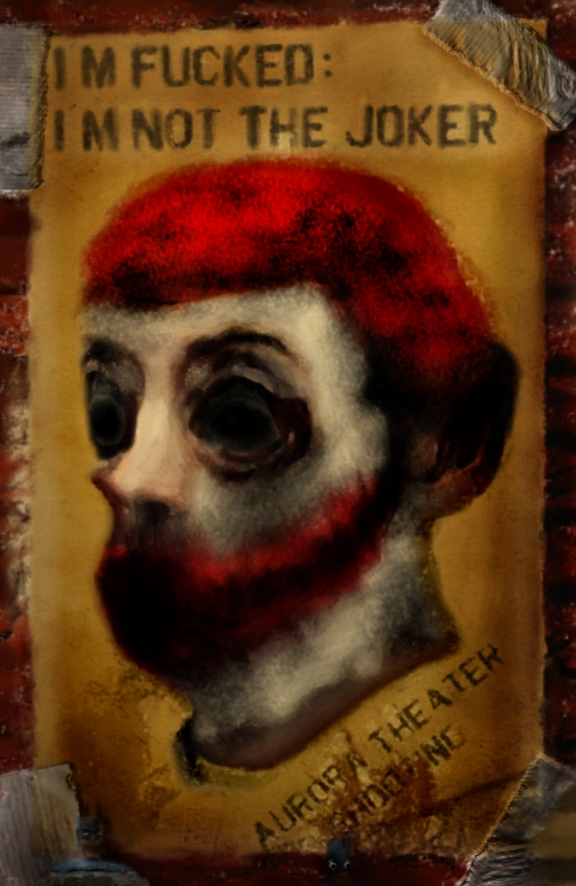el scorcho artist on james eagan holmes portrait in blood